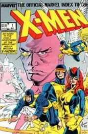 Official Marvel Index To The X-Men